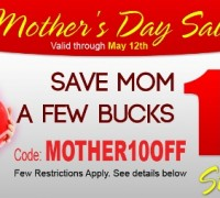 10% Discount – Mother's Day